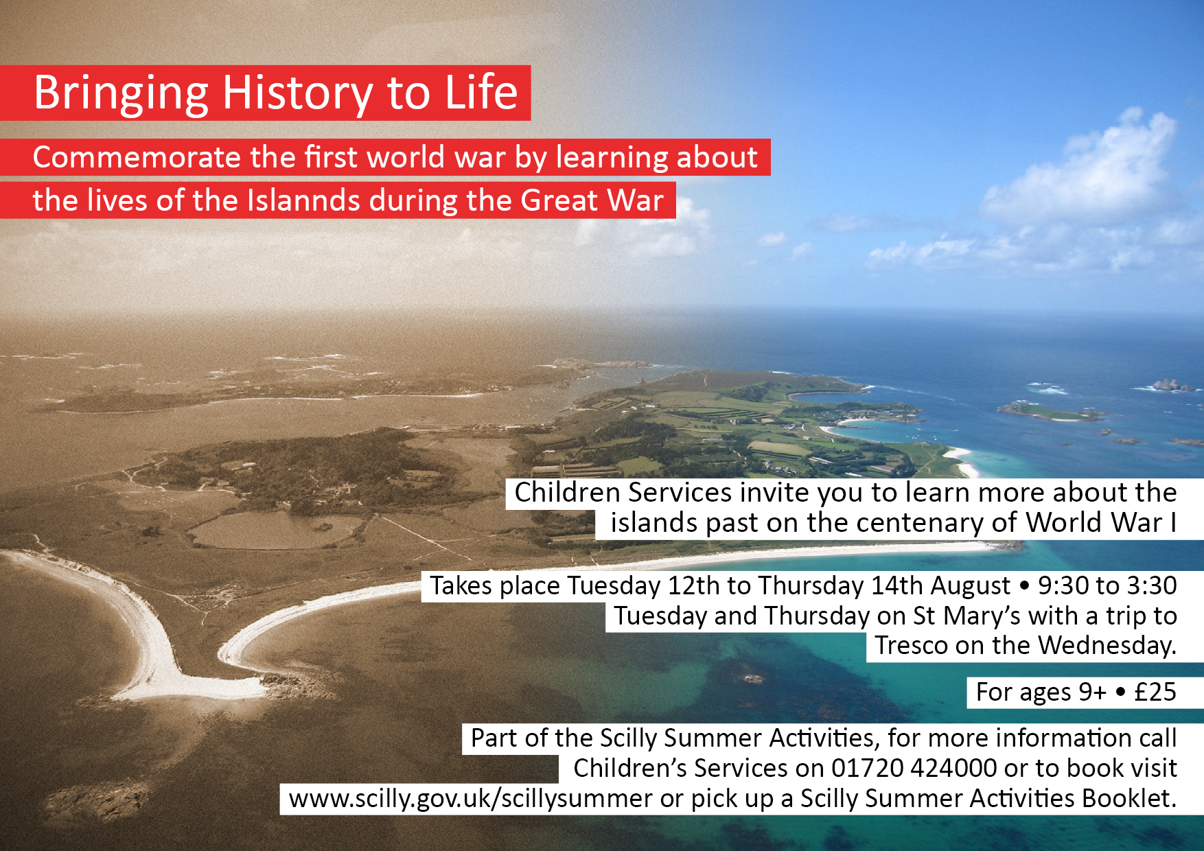 Bringing History to Life Poster