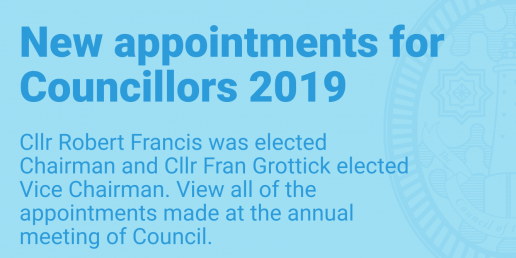 New appointments for Councillors 2019