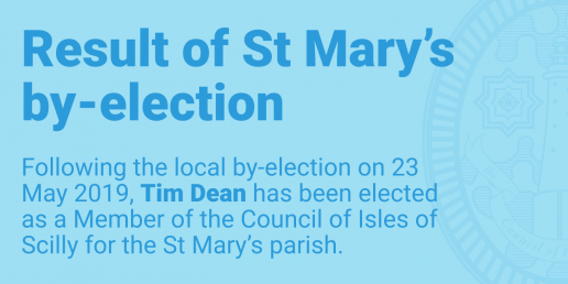 Result of St Mary's by-election