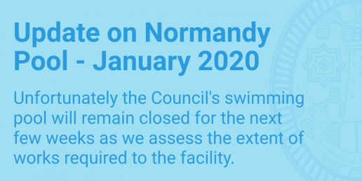 Update on Normandy Swimming Pool - January 2020