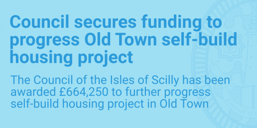 Council secures funding to progress Old Town self-build housing project