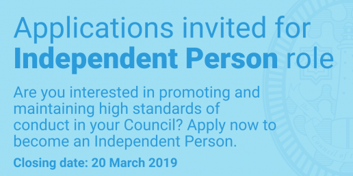 Independent Person advert