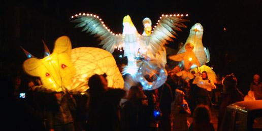 Island light festival Scilly