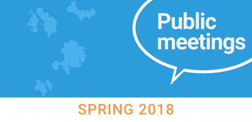 Council of the Isles of Scilly: Public Meetings, spring 2018