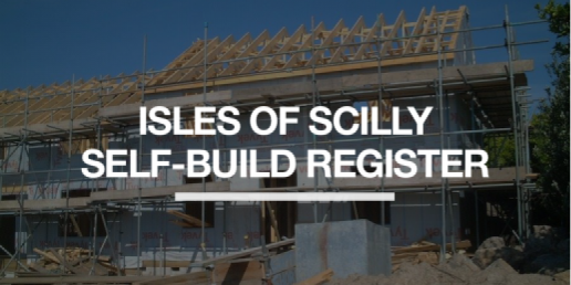 Custom and self-build register - Scilly